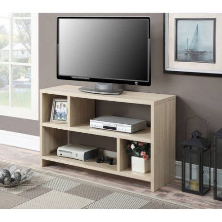 Convenience Concepts Designs2Go Northfield TV Stand Console for TVs up to 46 inch, Multiple Colors, Red