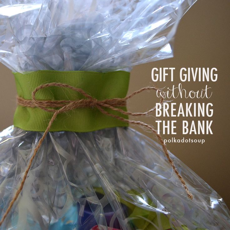 budget gifts and ways to save on giving