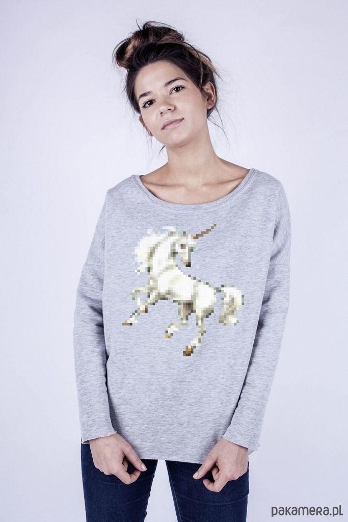 bluzy-Bluza damska 'unicorn'