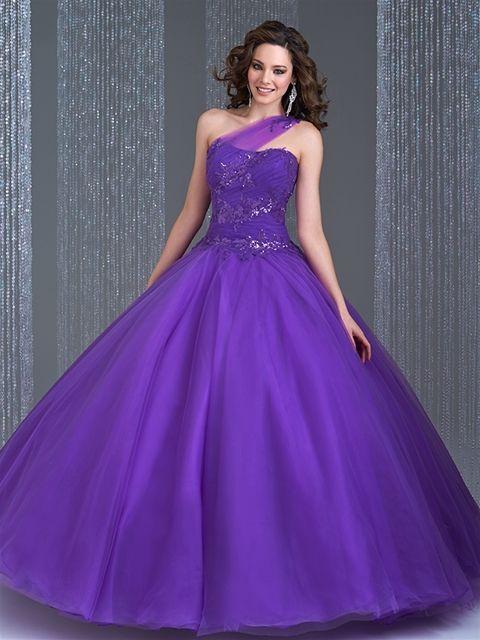 Vestidos de quince años estilo princesa 2015 Allure Bridals