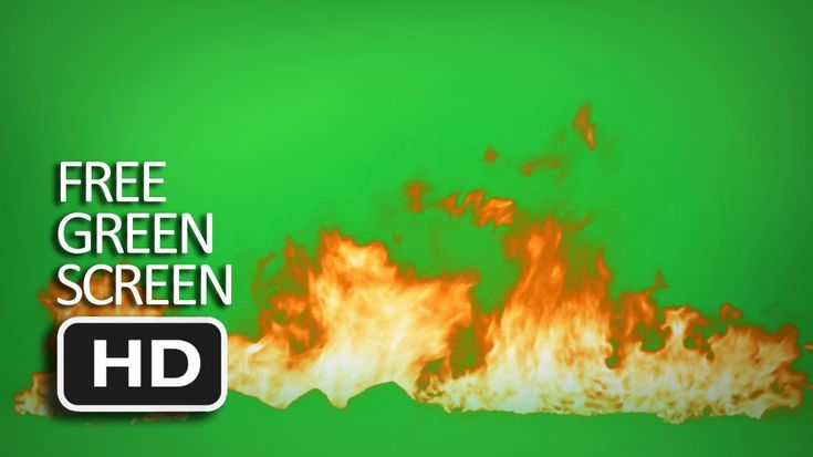 Free Green Screen - Fire Ground On Fire 1