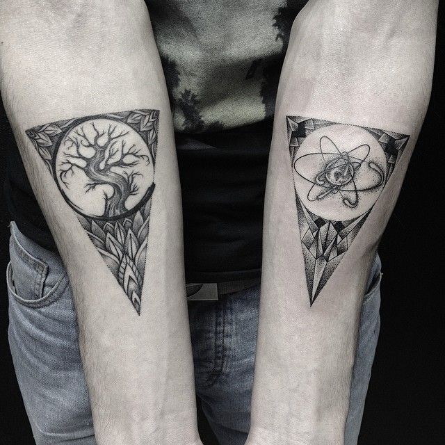 Tattoo-Journal.com - THE NEW WAY TO  DESIGN YOUR BODY | 30 Scientific Atomic Tattoo Designs and Ideas – Secrets of The Universe | http://tattoo-journal.com