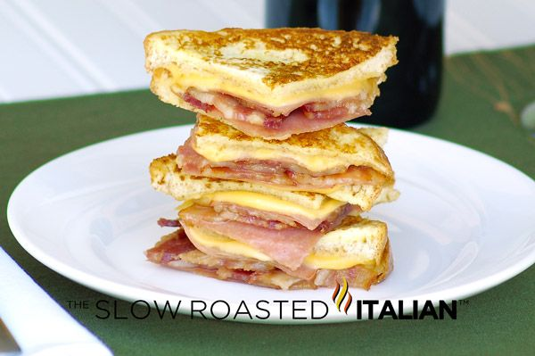 Bacon Monte Cristo Finger Sandwiches and other recipes. These were easy and really tasty! MR