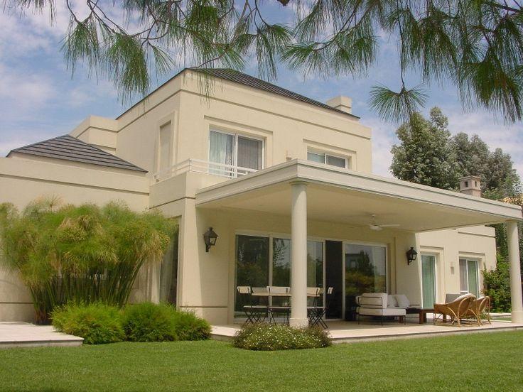 Mejores 27 imágenes de Casas clasicas modernas en Pinterest | Casas ...
