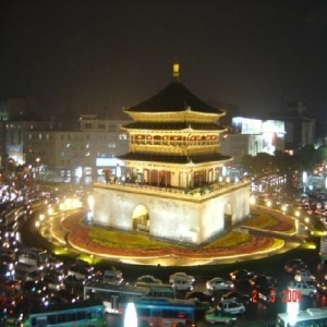 Xian Bell Tower.  Been here!