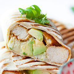 Burrito z kurczakiem i awokado | Kwestia Smaku