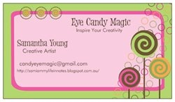 Check out the Premium Business Cards I created with Vistaprint!     How Sweet is this design!!