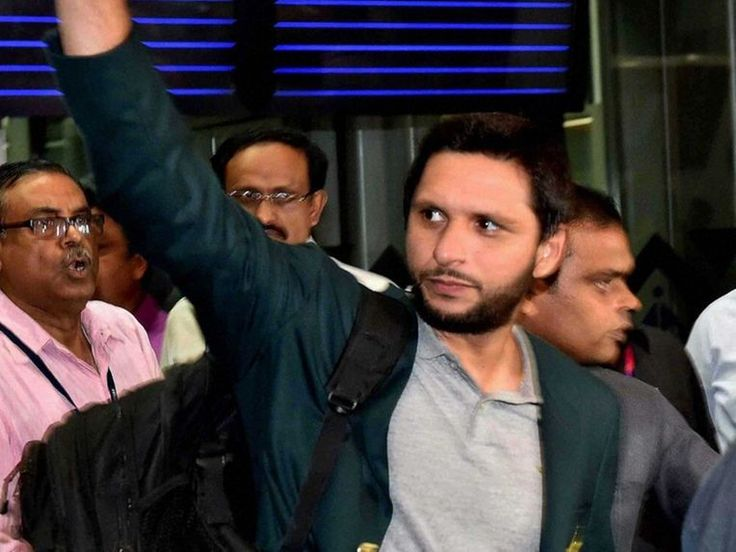 ICC World T20 : Pakistan Team Finally Arrives in India Shahid Afridi Hopes For Fresh Start