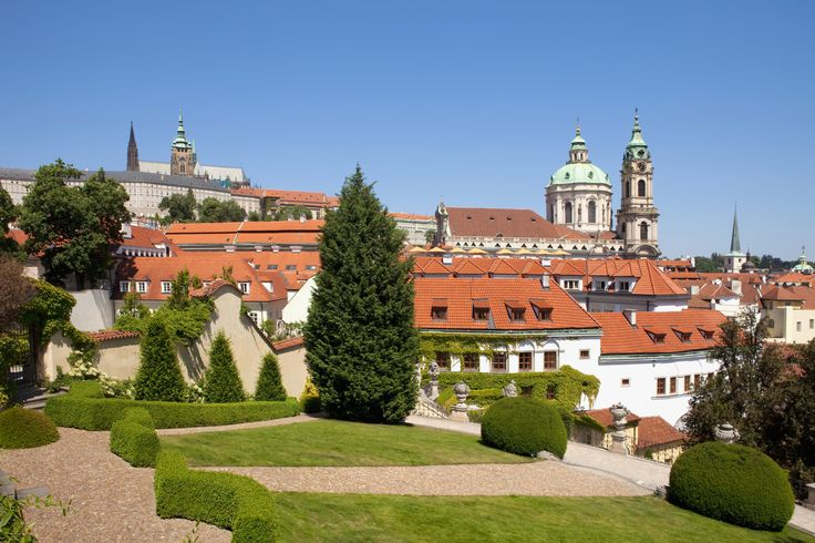 The Royal Garden is historically the most valuable of gardens surrounding the Prague Castle, Czech Republic. Originally a Renaissance garden, with some beautiful pieces of architecture inspired by Italian influences, it used to be a place, where the king and his family relaxed, played games and raised exotic plants.