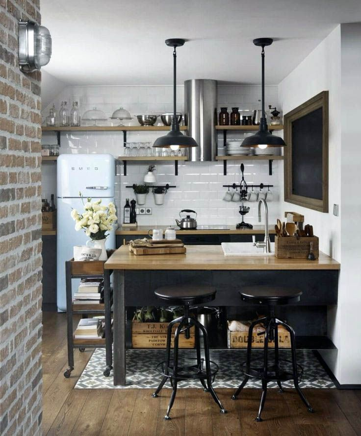 Remarkable Rustic Kitchen Wall Decor Ideas For Your Cozy Home House Interior Design Kitchen Small Kitchen Decor Kitchen Design Small