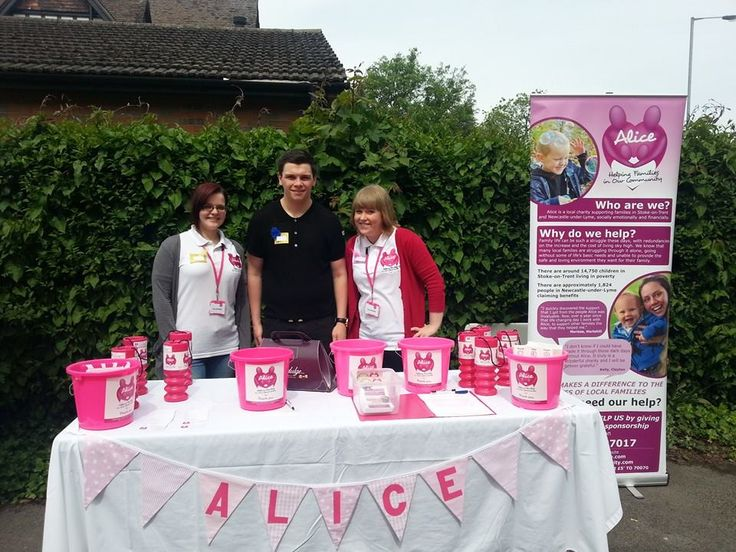 Our apprentices Rachel & Danni with AMB Insurances apprentice Jack at the AMB BBQ which raised over £400 for Alice - thank you AMB for choosing us as your charity of the year