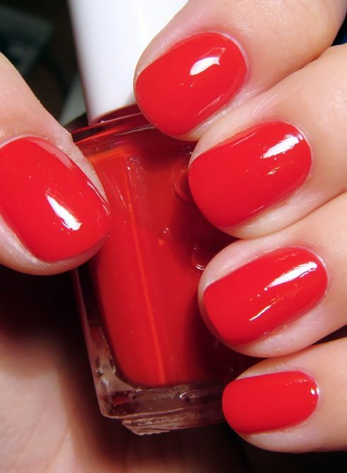 Top 25 Ideas About Red Nail Polish On Pinterest Red