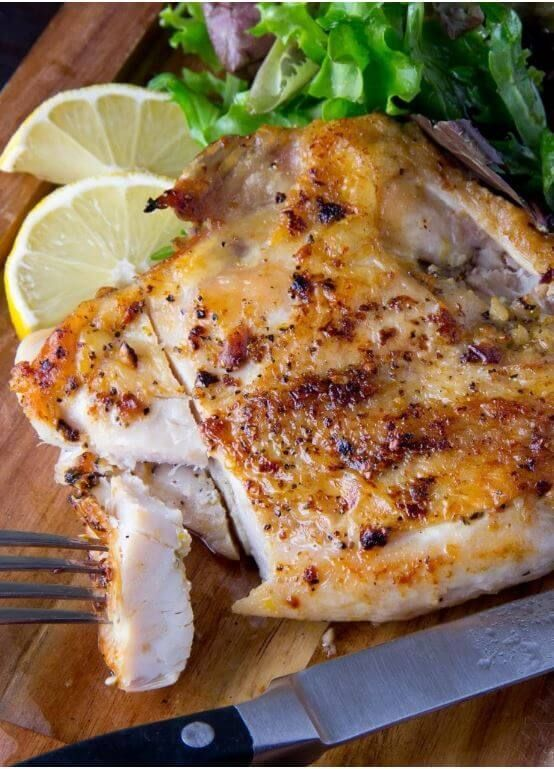 Paleo Always Perfect Bone-In Chicken Breasts Recipe