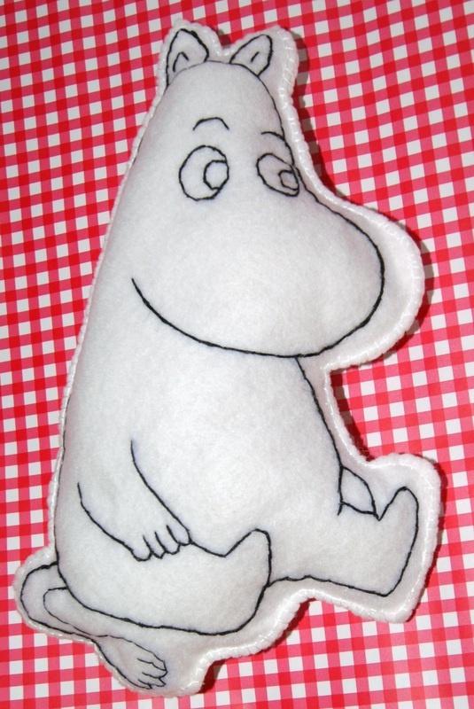 Moomin cushion
