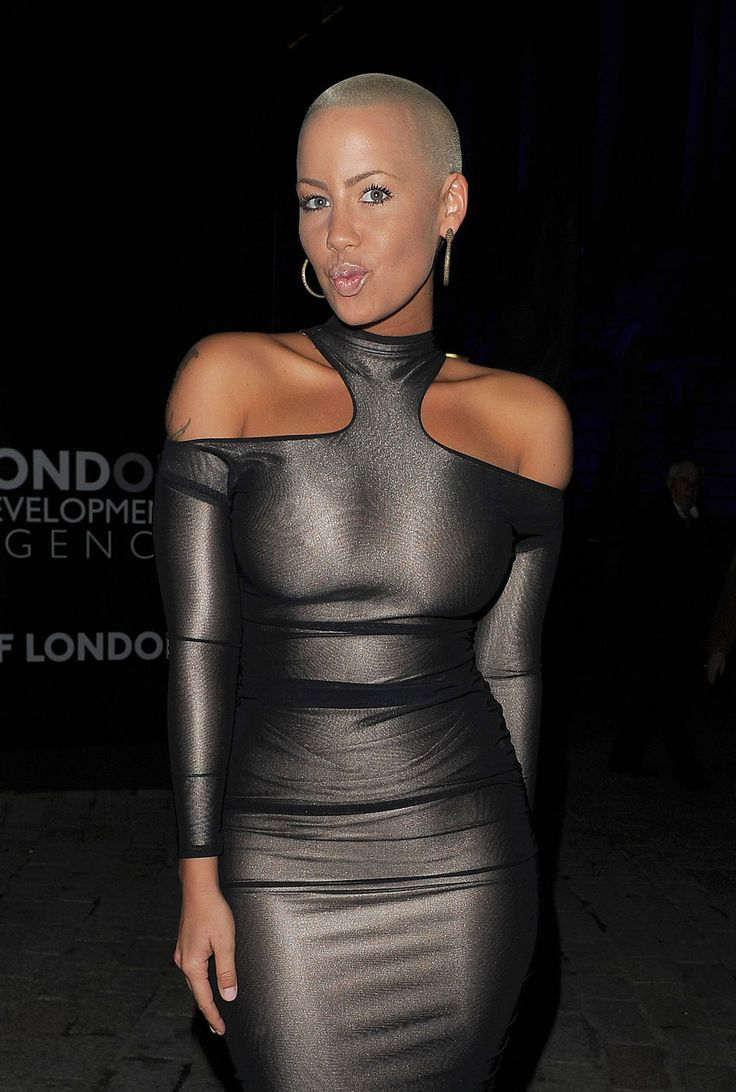 The beautiful Amber Rose ...Classy ... She also starred in a PSA by NOH8 Campaign