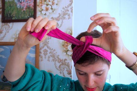 sjaaltje knopen in je haar