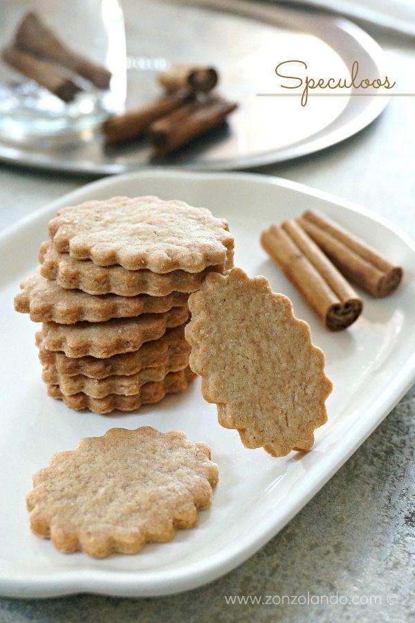 Ricetta biscotti alla cannella tipici del Belgio e Olanda. Biscotti croccanti e speziati deliziosi. - Speculoos cinnamon cookies recipe