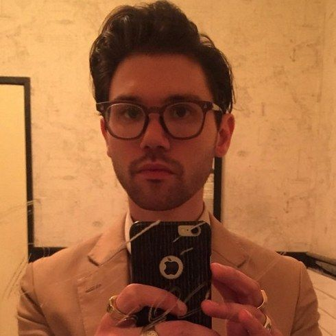 Ryan Ross, formerly of Panic! At The Disco, has sadly ditched his elaborate eye makeup. | Here's What Your Teenage Emo Heartthrobs Look Like Now