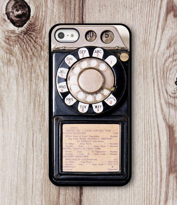 Toffe iPhone cases - wonen voor mannen - retro iphonecase, telefoonhoesje, draaitelefoon, smartrepair