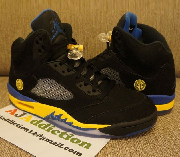 "Air Jordan V ""Black Reverse Laney"" (2013) – Zdjęcia"