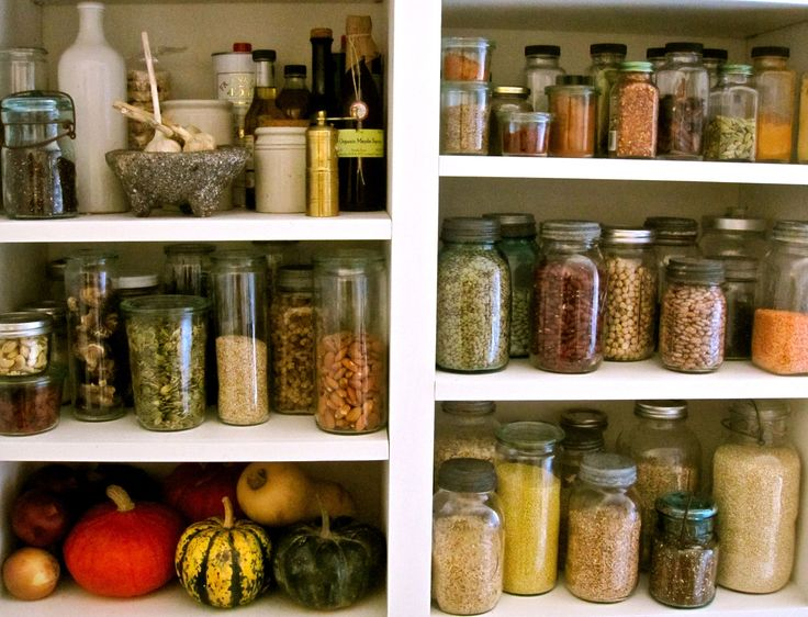 Pantry Essentials: Clean Eating, Pantry Essentials, Healthy Pantry, Pantries, House Idea, Healthy Food, Healthy Recipes, Essentials Pdf, Mason Jars
