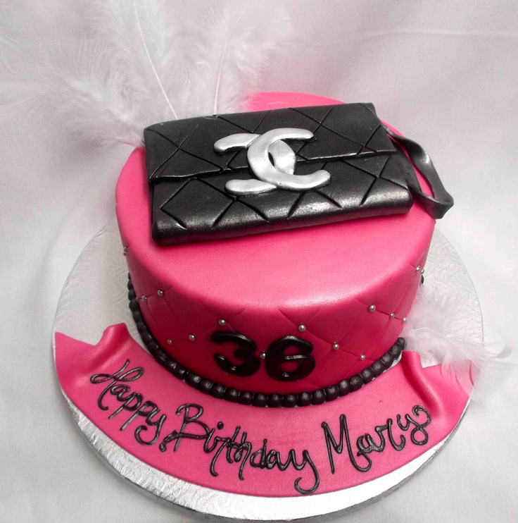 Chanel Birthday Cake Ideas