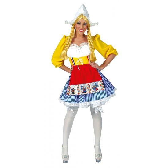 Hollandse dames jurk. Carnavalskleding 2016 #carnaval