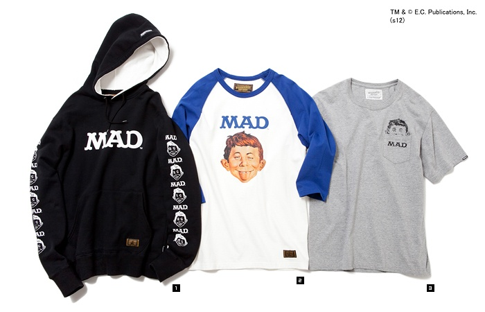 Neighborhood x Mad Magazine Collection _ cool!