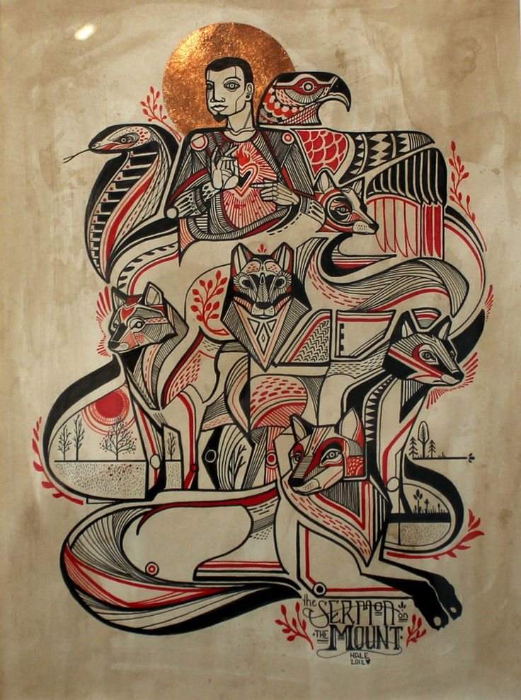 "Image of David Hale - ""Sermon on the Mount"""