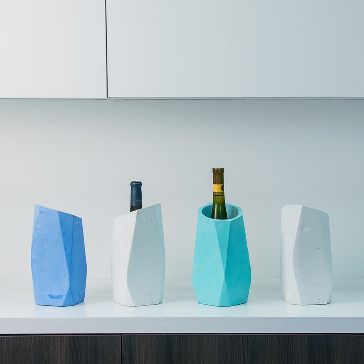 The Wine Chiller offers a unique blend of industrial design and sophistication #WineGifts