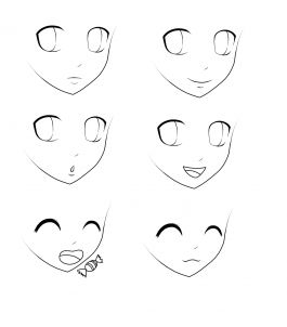 how to draw cartoon eyes step by step for kids (
