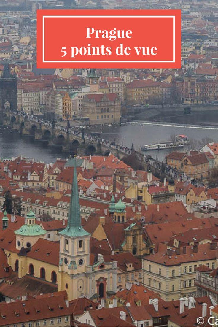 Prendre de la hauteur pour admirer la belle Prague... 5 idées de points de vue!