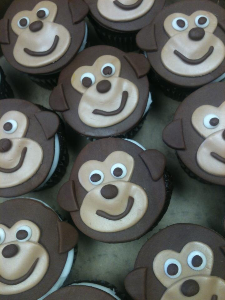 Monkey Cupkakes