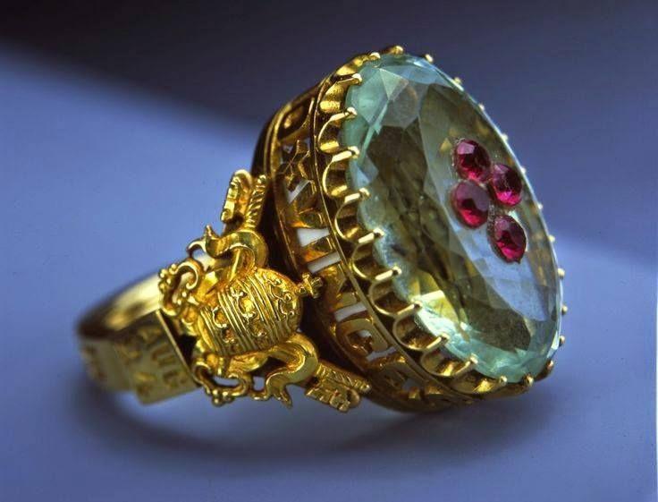 """""""Ring of Pope Pius IX, Circa 1846 """""""