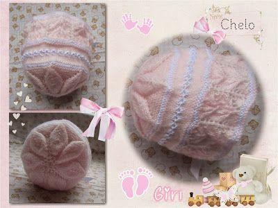Conjunto para bebé; chaqueta, polainas y gorro en rosa.