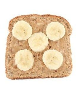 21 Breakfasts for the 21 Day Fix! Quick easy meals! Peanut butter and banana toast!