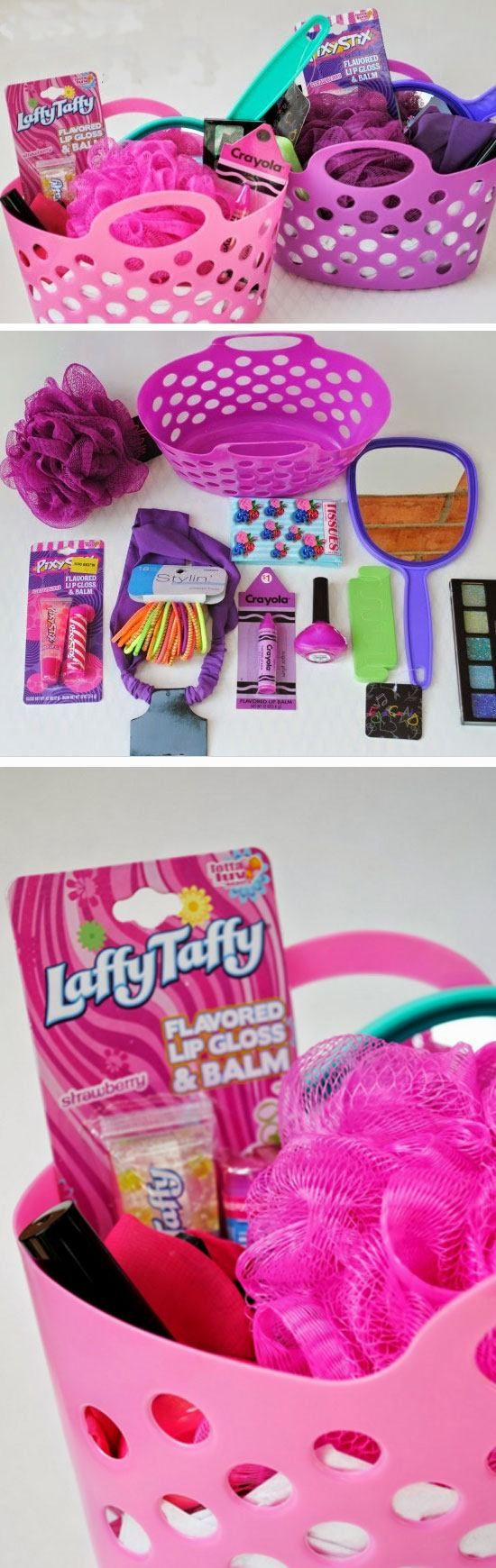 Pink n Purple Spa   Easy DIY Easter Basket Ideas for Kids