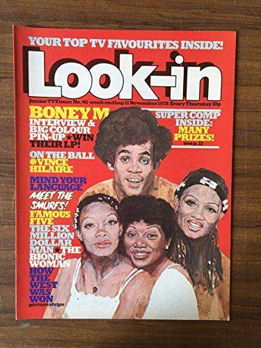 Look-in no 46 Nov 1978 ft. Boney M