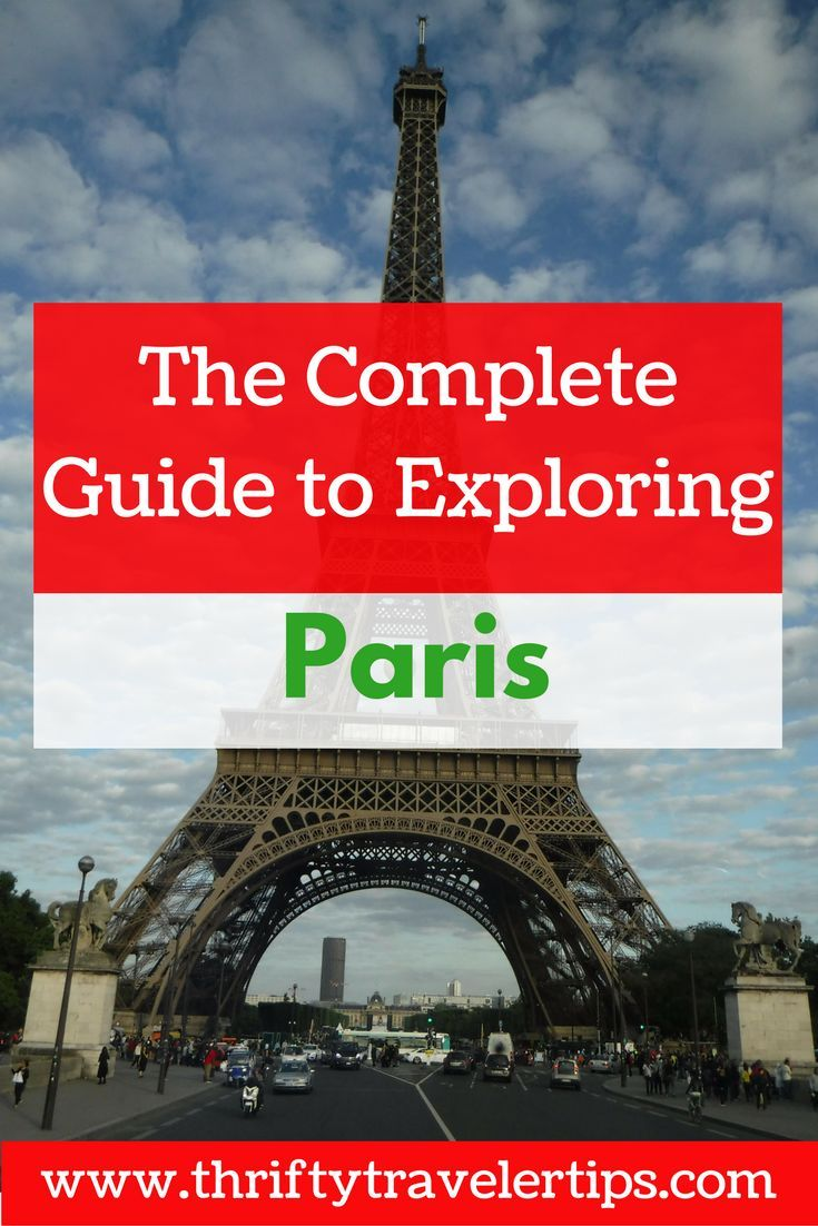 Paris, France has so much to offer, that you'll want to plan ahead before you visit. Check out this complete guide to exploring Paris. It includes food and drinks to eat in Paris, things to see in Paris, and phrases to know in Paris. Don't forget to save this for later!