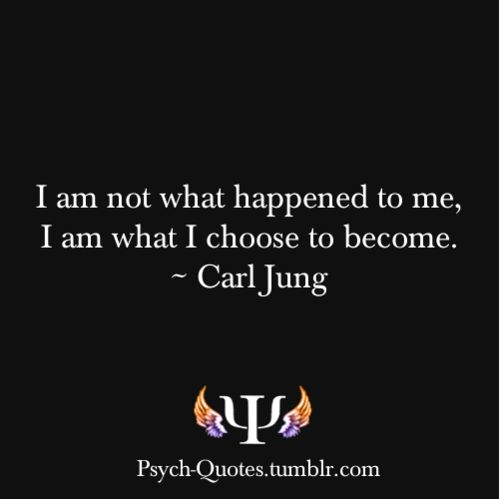 Going through a really rough time and this quote is a great reminder that I have the conscious control over my emotions and can define my own future. Be who you want to be, not what others want to see