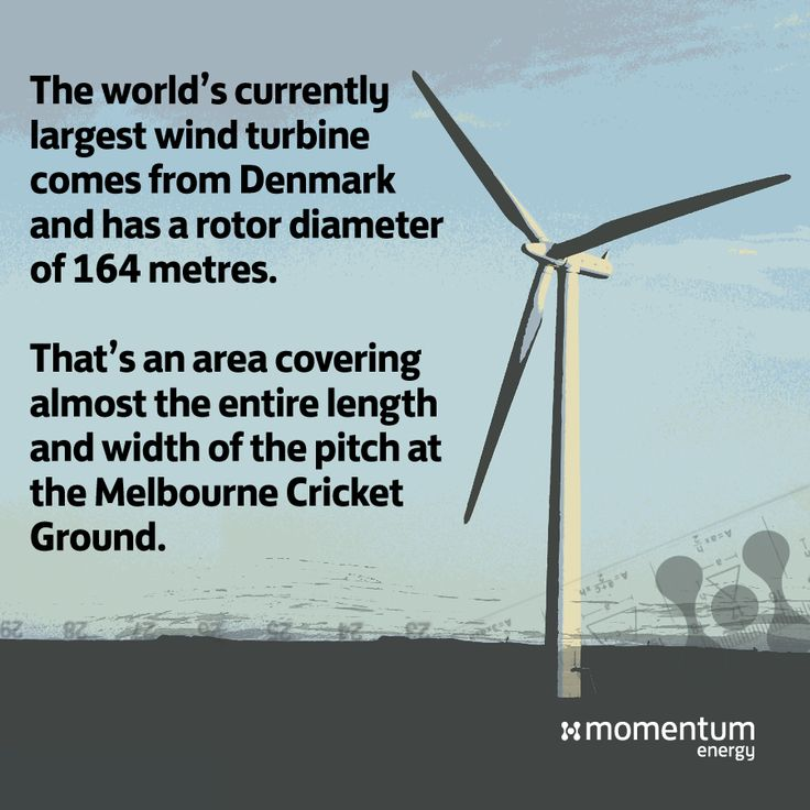 The world's largest wind turbine, with a rotor diameter of 164 metres. Yet another impressive feat of engineering brought on by advances in renewable energy!  #didyouknow #science #renewable #green #energy #engineering #mythbuster