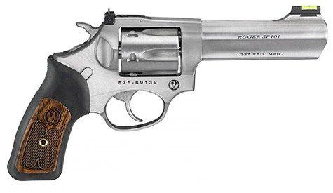 New Ruger SP101 .327 Federal Mag $609 - http://www.gungrove.com/new-ruger-sp101-327-federal-mag-609/