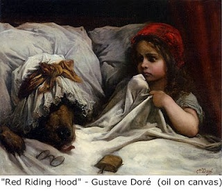 "Gustave Dore ""Red Riding Hood"""
