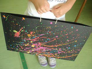 LA MALETA DE L'ARTISTA: per a posar  les  obres de tot el curs