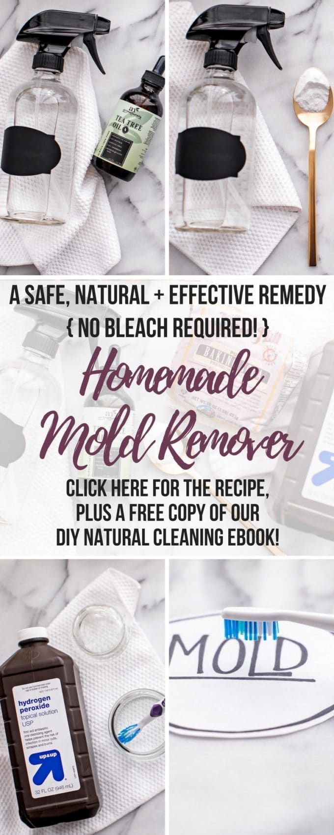 diy mold remover how to get rid of black mold naturally without bleach