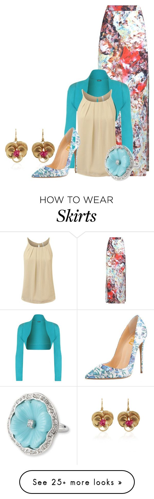 """Maxi"" by dprice15 on Polyvore featuring WearAll and Kenneth Jay Lane"