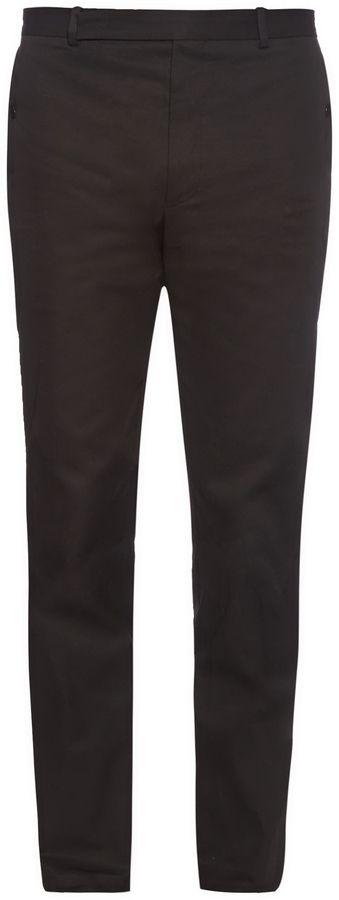 BALENCIAGA Stretch-cotton biker trousers