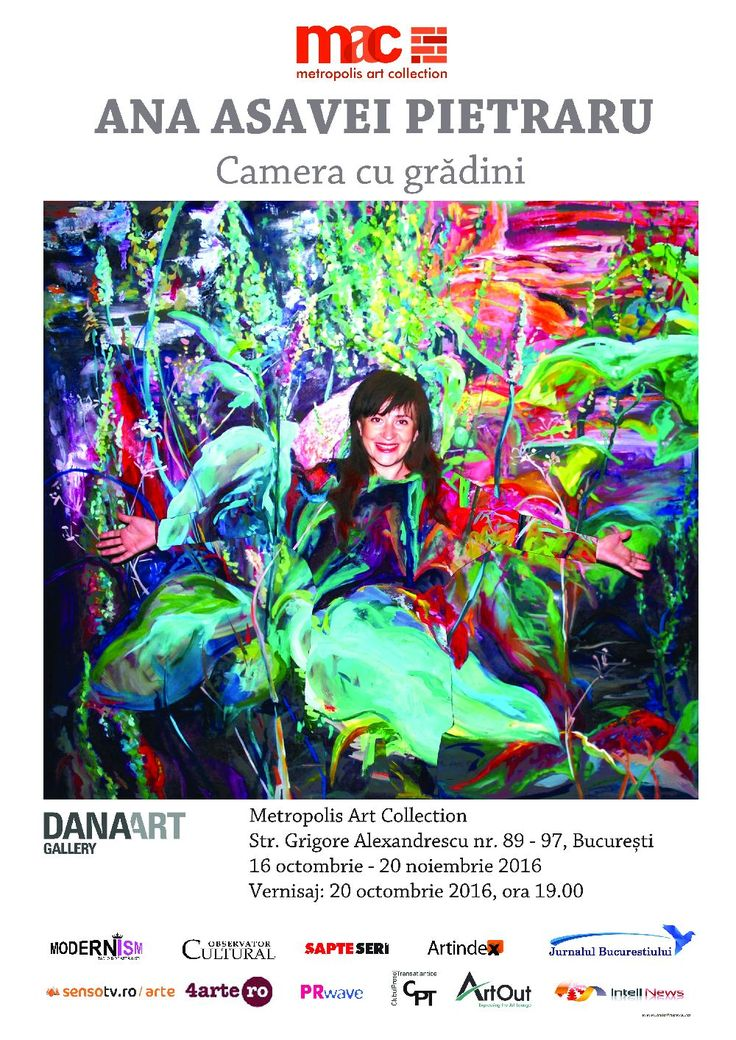 """Camera cu grădini"" la Metropolis Art Collection - http://www.intellnews.ro/camera-cu-gradini-la-metropolis-art-collection/"