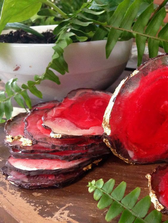 Make Your Own Resin Agate Coasters — Apartment Therapy Reader Submission Tutorials | Apartment Therapy