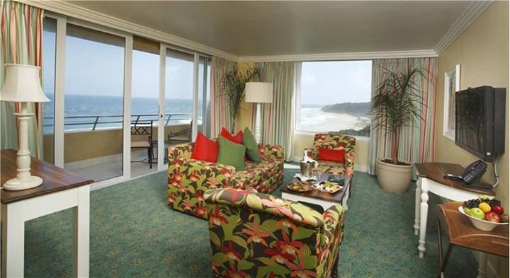 Hear the crashing of waves while enjoying one of the rooms at the Wild Coast Sun.